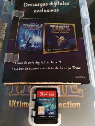 Trine 4 para Nintendo Switch contenido exclusivo