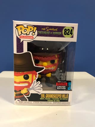 Funko pop EVIL GROUNDSKEEPER WILLIE the simpsons