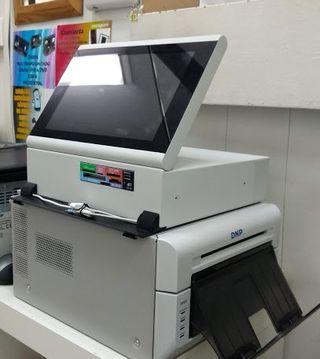 Terminal de pedidos para impresoras DNP
