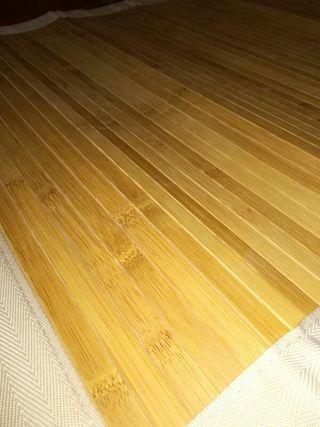 Alfombra /esterilla de bamboo NUEVA
