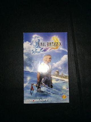 Manual final fantasy X ps2