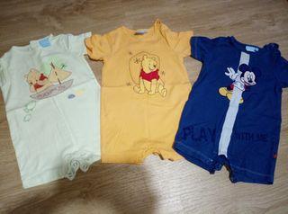 Pack 3 pijamas bebe Disney verano talla 9 meses