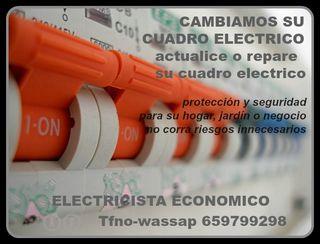 CUADRO ELECTRICO-AUTOMATICOS-MONTAJE