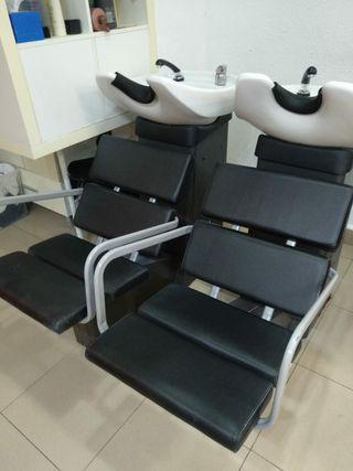 sillones lavacabezas