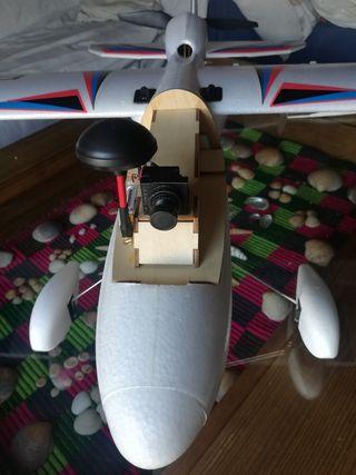 Avión rc FPV