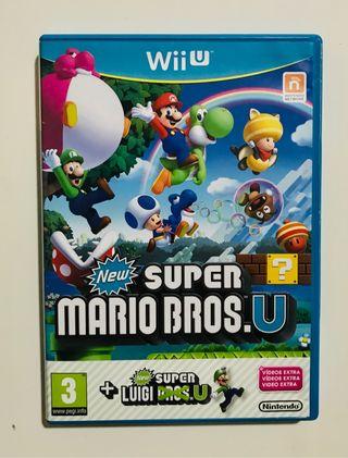 Súper Mario Bros + Luigi - Wii U