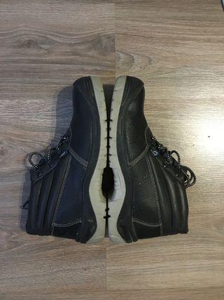 Zapato Botas calzado de seguridad de piel