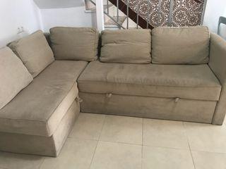 Sofa cama esquina Ikea
