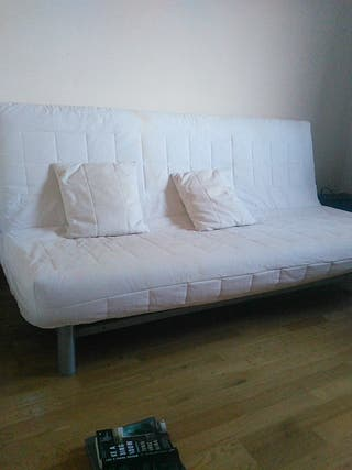 Sofá cama beddinge Ikea con funda