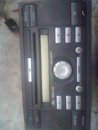 153972 Sistema audio / radio cd FORD FIESTA (CBK)
