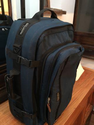 Maleta de mano, mochila y de ordenador Mont-bell
