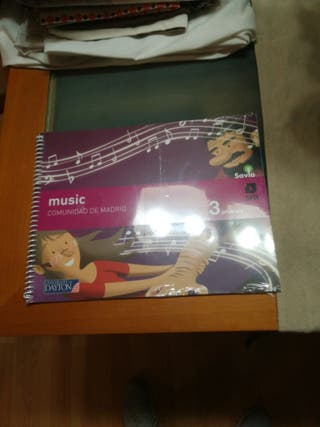 Libro de música tercero de primaria
