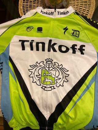 Maillot ciclismo Tinkoff
