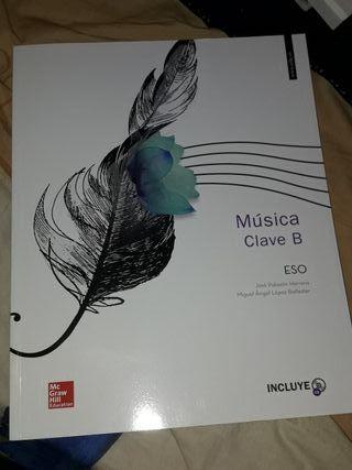 libro de música clave B ESO