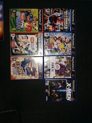 Cajas ps2 con manuales