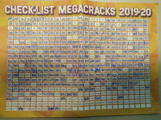 Cromos Megacracks MGK 2019-2020