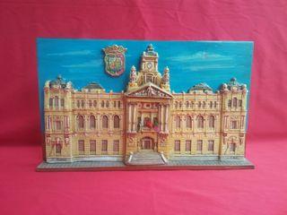Azulejo Ayuntamiento de Málaga Firmada