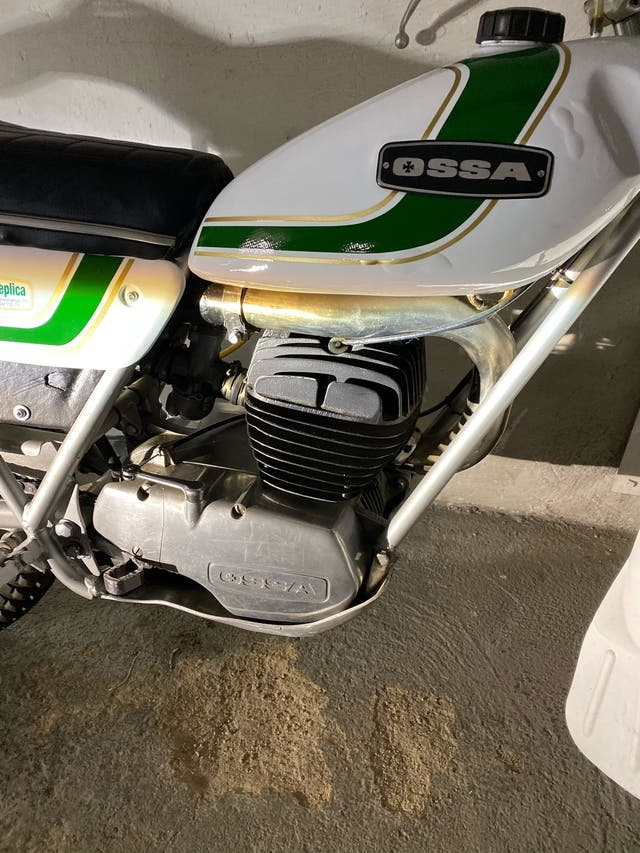 Ossa Mick Andrews 250cc del año 74 impecable