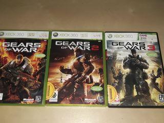 Pack Gears of War 1, 2 y 3 XBOX360