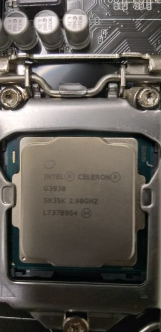 Procesador Intel Celeron G3930 2,9Ghz