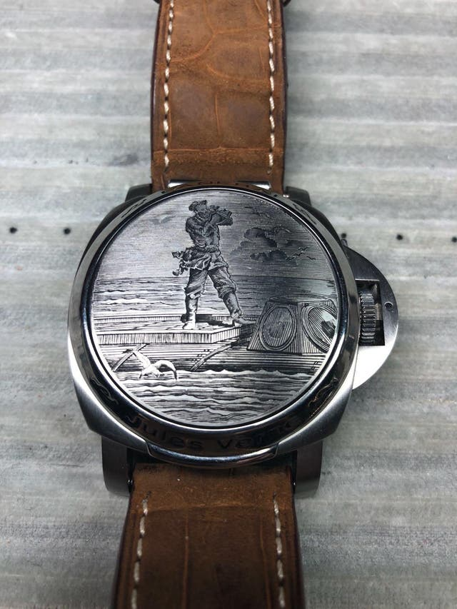 Reloj PANERAI edición Julio Verne, solo 100 uds.