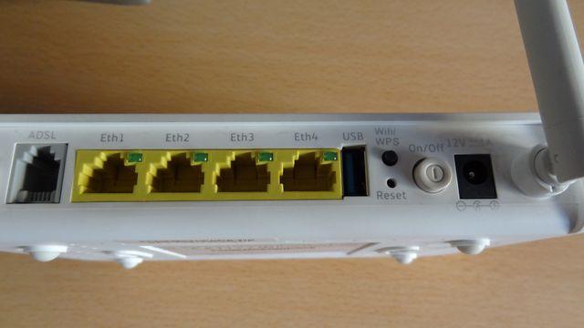 Router Movistar wi-fi