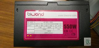 Fuente de alimentacion Biwond 550W