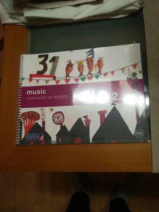 libro de música segundo de primaria