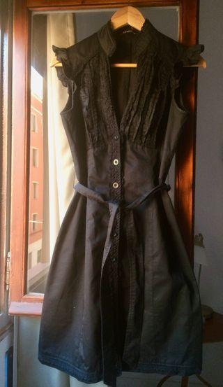 vestido negro talla 38