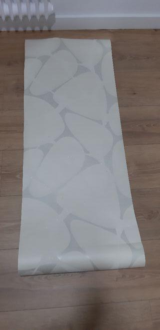 Papel pintado geométrico con textura