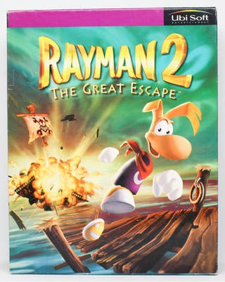 Rayman 2 The Great Escape PC España caja grande