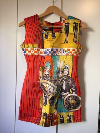 Vestido (S) estampado Dolce Gabbana