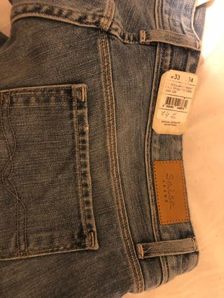 Pantalon jeans de salsa talla L .