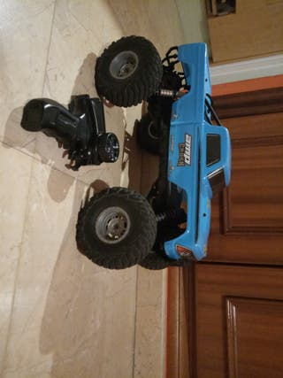 coche monster rc.