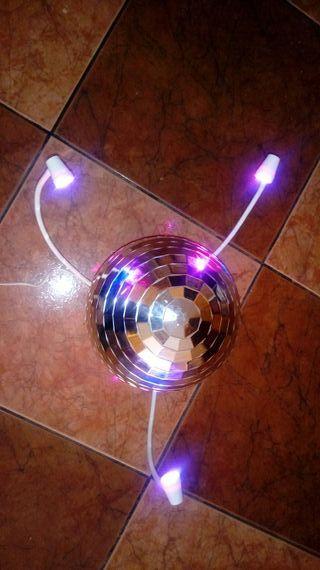 bola de decoracion de disco