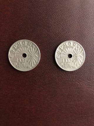 Céntimos de 1937