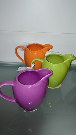 vendo 3 lecheras de cerámica