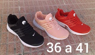 zapatillas Nike mujer. Tallas de la 36 a la 41