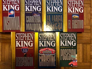 Pack libros STEPHEN KING
