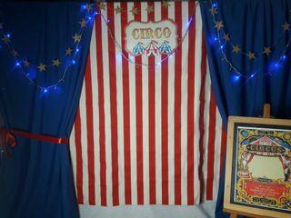Photocall de circo