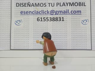 Playmobil representando UN CAGANET