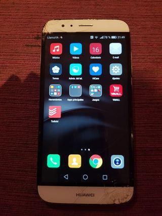 Huawei G8 Rio l01 32 gigas cristal roto