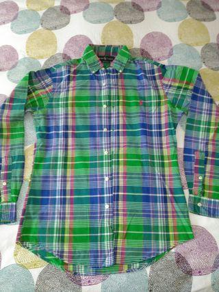 camisa chico Ralph Lauren original