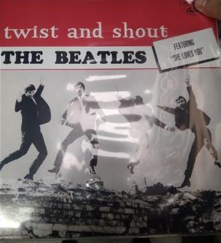 The Beatles Twist and shout Lp