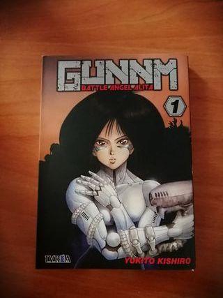 Comic Gunnm battle angel Alita