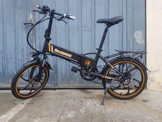 Bicicleta electrica 500w plegable.
