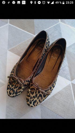 Zapatos estampado animal