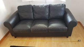 Sofa imitacion cuero