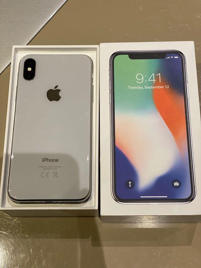 iPhone X 64 GB Plata