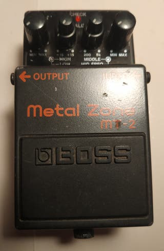 Pedal distorsión guitarra boss